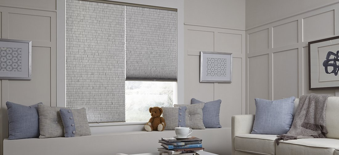 Cellular Shades - Living Room