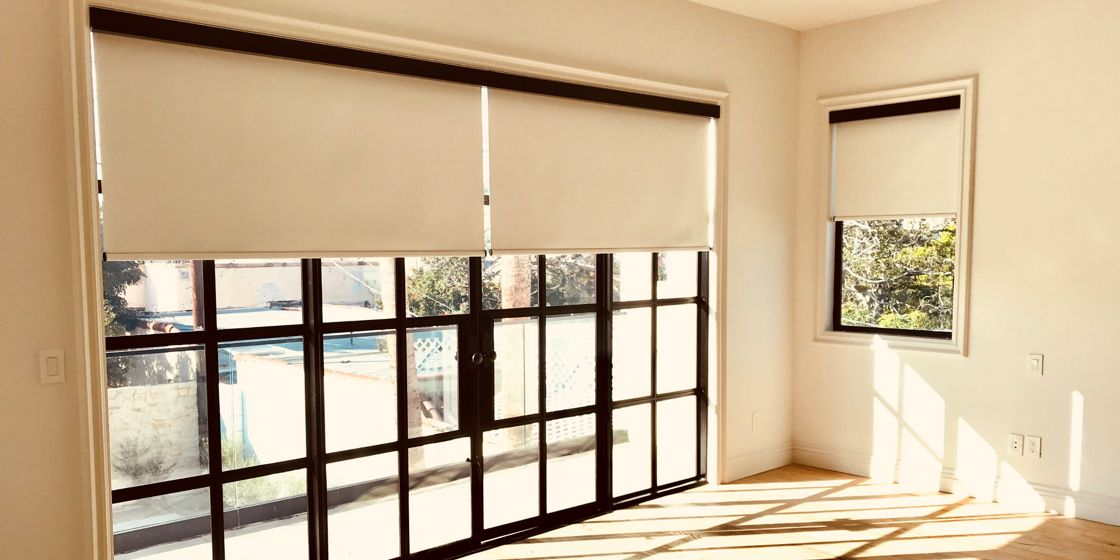 Roller Shades - Los Angeles Area - Eve 232 - Bedroom