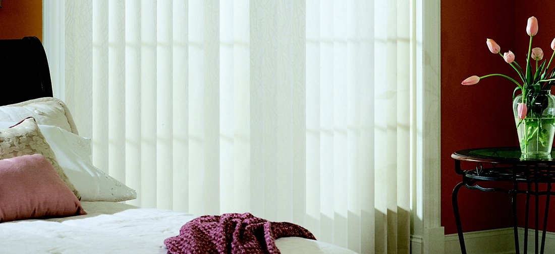 Vertical Blinds - Montana Lannonstone 6165 - Bedroom