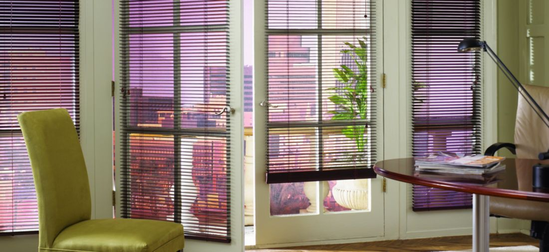 Wood Blinds - Chickory 522 - Office